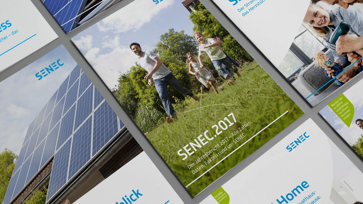 SENEC Corporate Design Entwicklung