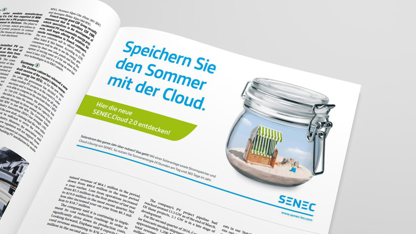 SENEC Kampagnen-Entwicklung