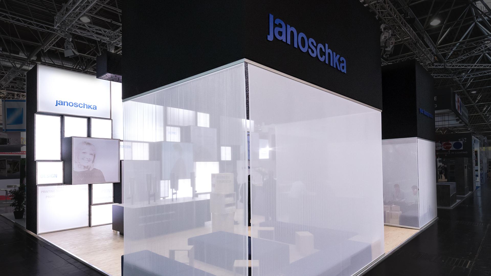 Janoschka Messestand