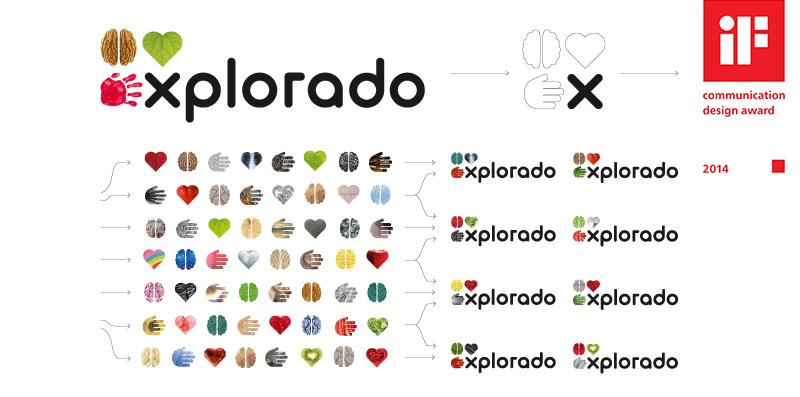 Design für Kindermuseum Explorado Symbole Teaserbild