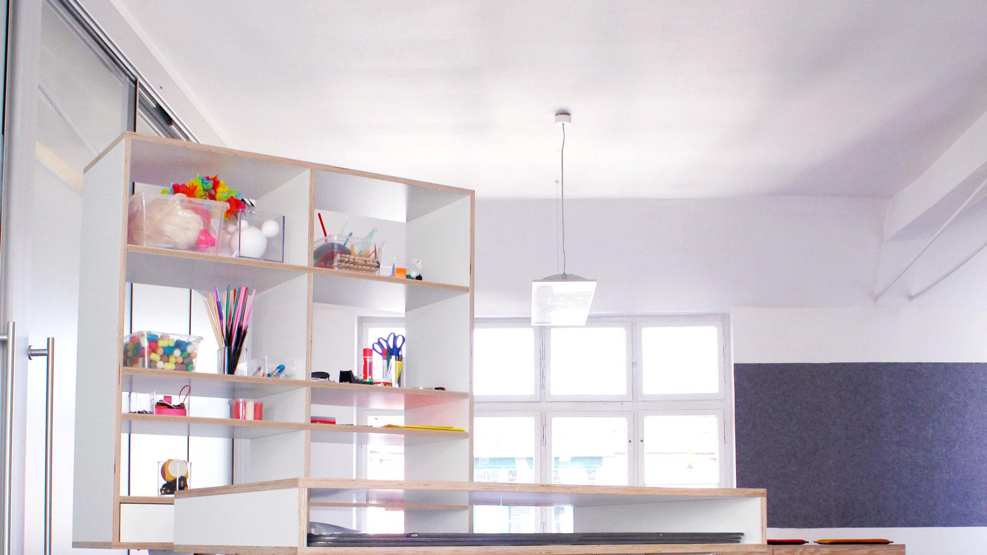 Workspace kleiner und bold