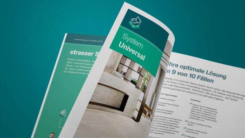 strasser Lieferpogramm System Universal Intro