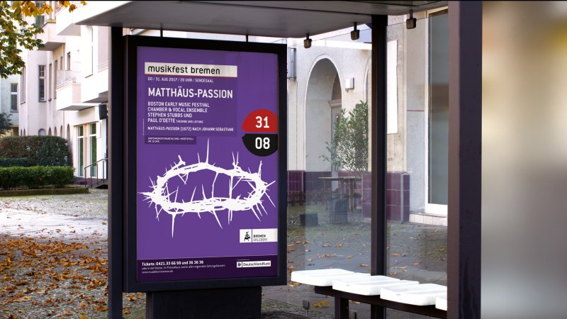 Musikfest Bremen Plakat