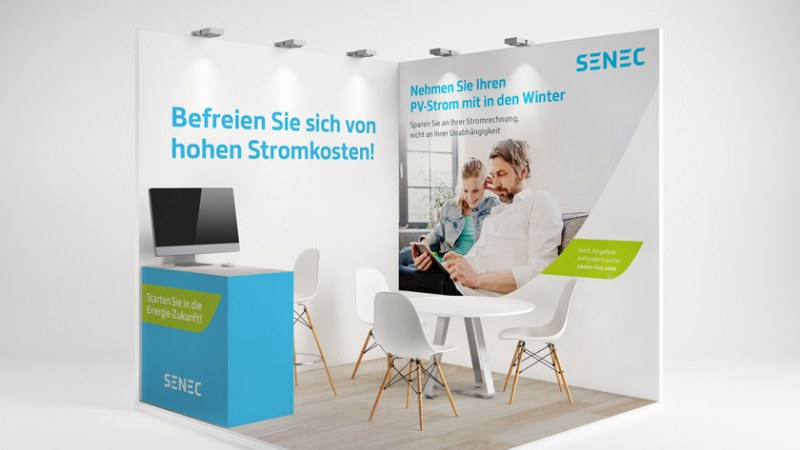 Die SENEC Marke im Raum