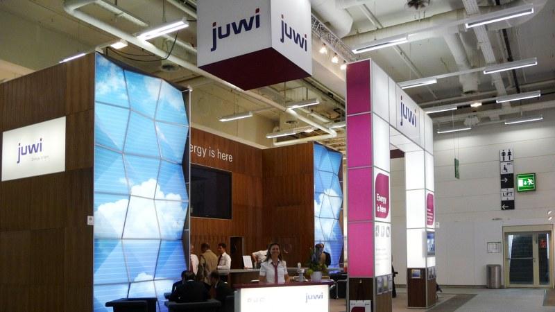 Juwi mit neuem Messestand auf der Solarmesse »PV Sec« 2009
