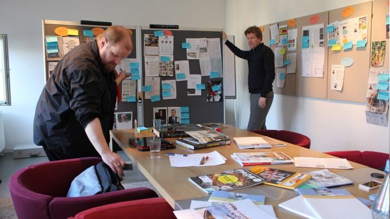 Paper Prototyping Redaktionsworkshop