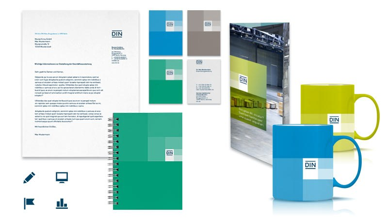 Corporate Design DIN
