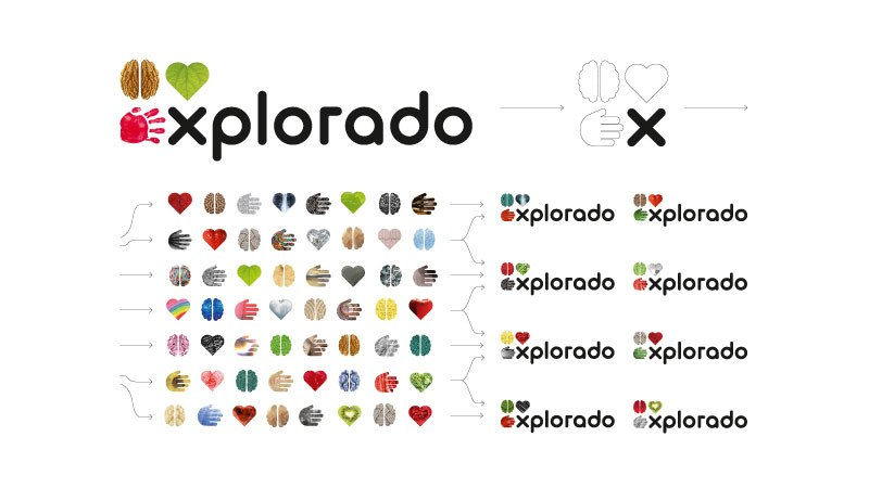Explorado Logo prämiert mit dem Red Dot Award