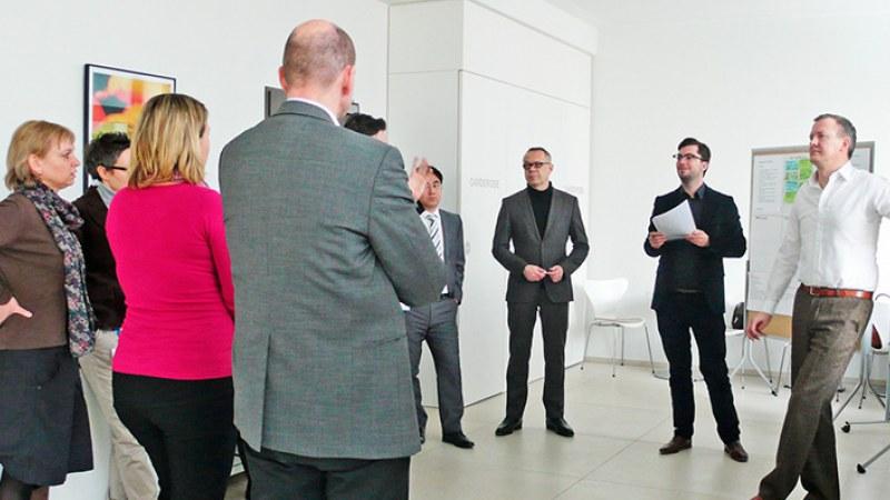 DIN Workshop Momentaufnahme der Teilnehmer