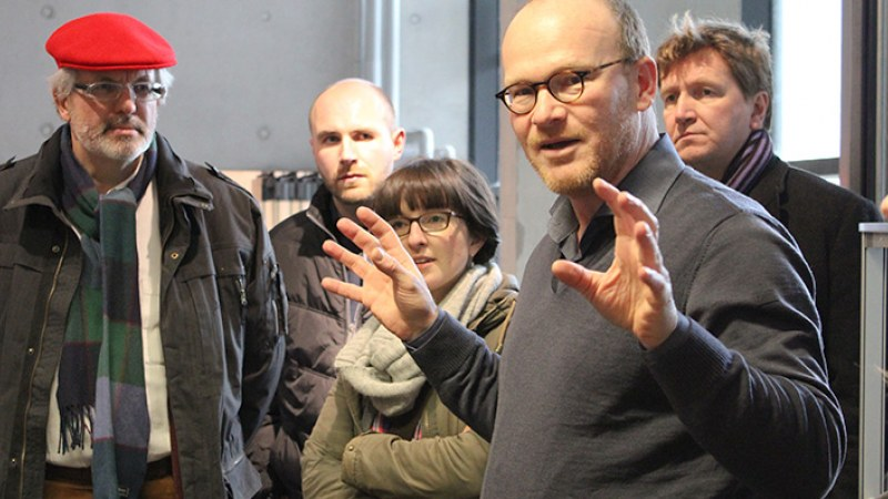 Launchlabs Innovationsworkshop Momentaufnahme mit Teilnehmer