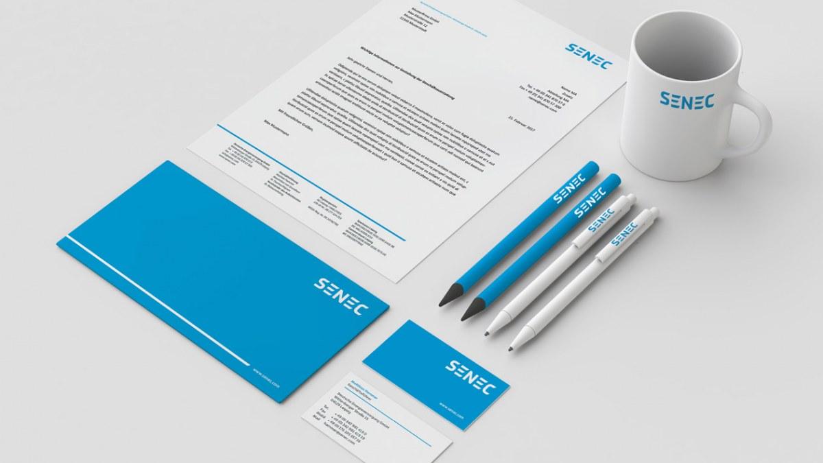 SENEC Corporate Design