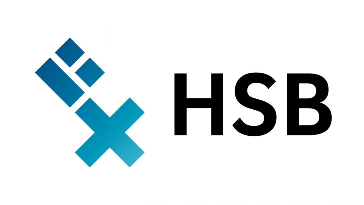 HSB Logo Standardtvariante stilisierter Schlüssel