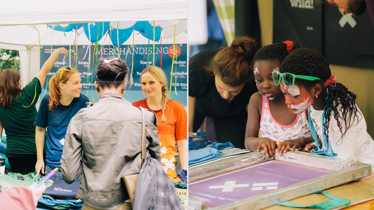 HSB Sommerfest zur Vorstellung des neuen Corporate Design