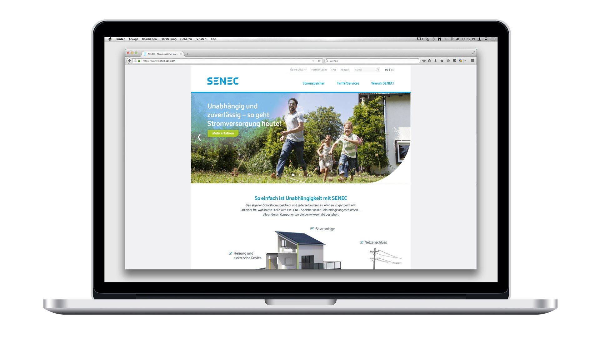 SENEC Digital - Startseite