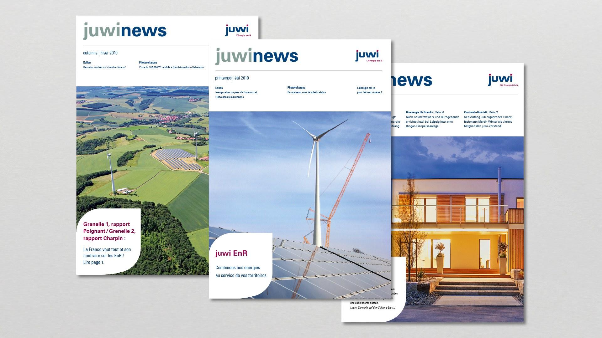Mitarbeiterzeitung Juwinews